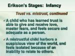erikson s stages infancy