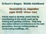 erikson s stages middle adulthood