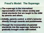 freud s model the superego