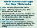 freud s psychosexual stages anal stage 18 36 months
