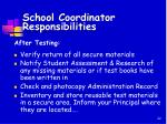 school coordinator responsibilities2