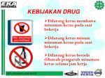 kebijakan drug