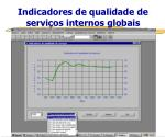 indicadores de qualidade de servi os internos globais