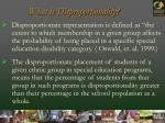 what is disproportionality