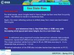 sea state bias
