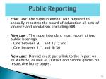 public reporting1