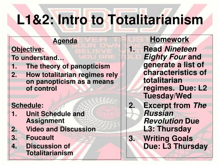 l1 2 intro to totalitarianism n.