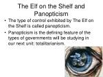 the elf on the shelf and panopticism