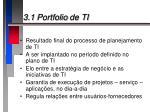 3 1 portfolio de ti