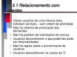 3 1 relacionamento com clientes