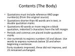 contents the body1