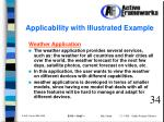 applicability with illustrated example
