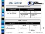 crc cards 2