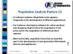 negotiation analysis pattern 2