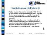 negotiation analysis pattern 3