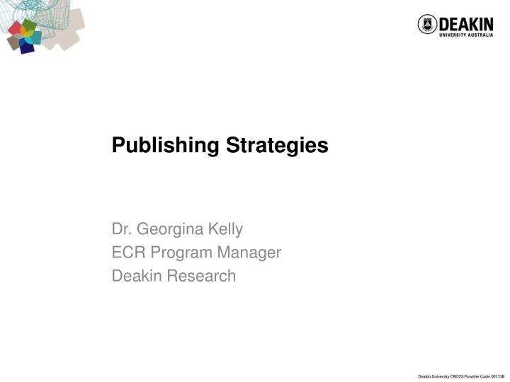 publishing strategies n.