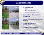local benefits