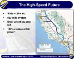 the high speed future