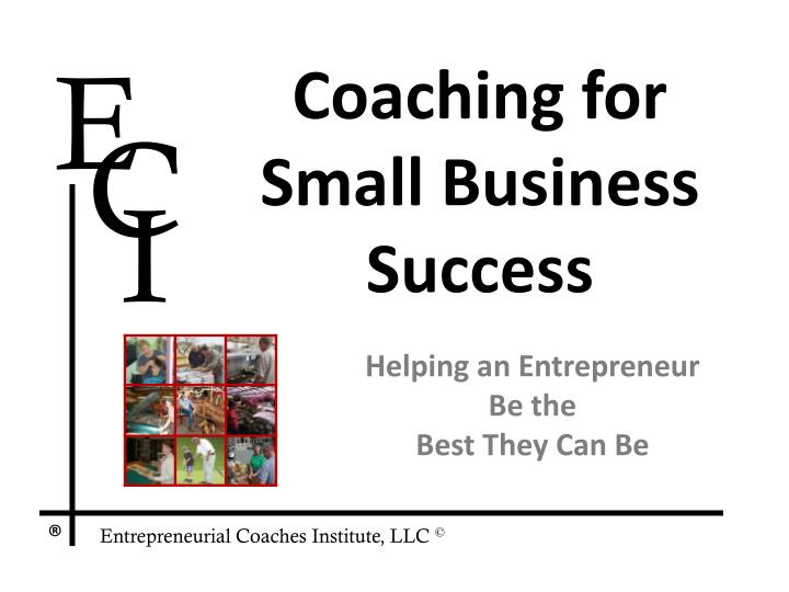 coaching for small business success n.