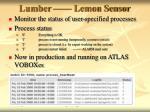lumber lemon sensor