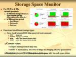 storage space monitor