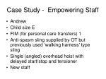 case study empowering staff