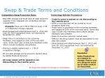swap trade terms and conditions