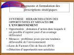 diagnostic et formulation des prescriptions strat giques3
