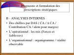 diagnostic et formulation des prescriptions strat giques4