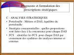 diagnostic et formulation des prescriptions strat giques6