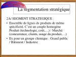 la segmentation strat gique3