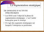 la segmentation strat gique4