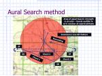 aural search method