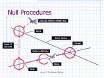 null procedures