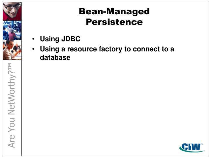Bean-Managed