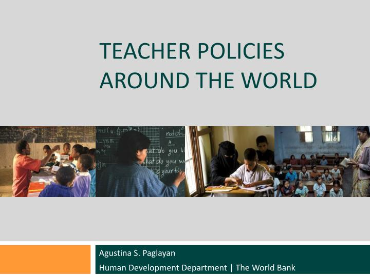 teacher policies around the world n.