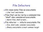file infectors