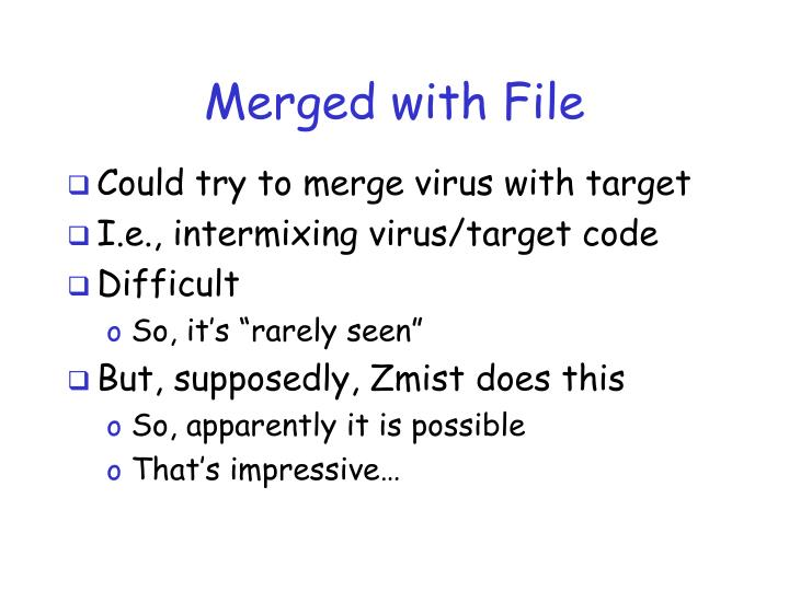 Merged with File