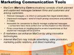 marketing communication tools