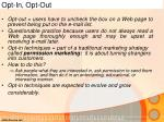 opt in opt out1