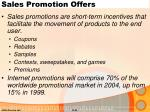 sales promotion offers