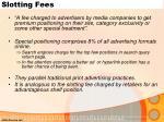 slotting fees