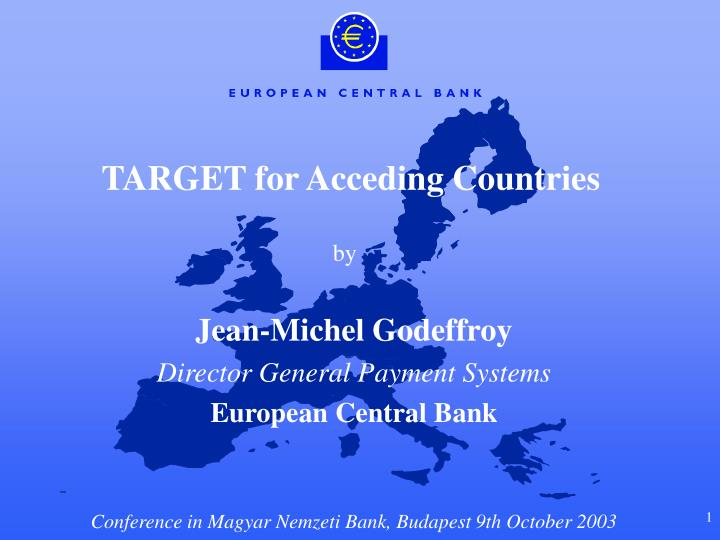 target for acceding countries n.