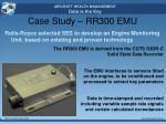 case study rr300 emu2