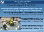 case study rr300 emu3