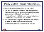 policy matters public policymakers1