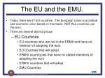 the eu and the emu