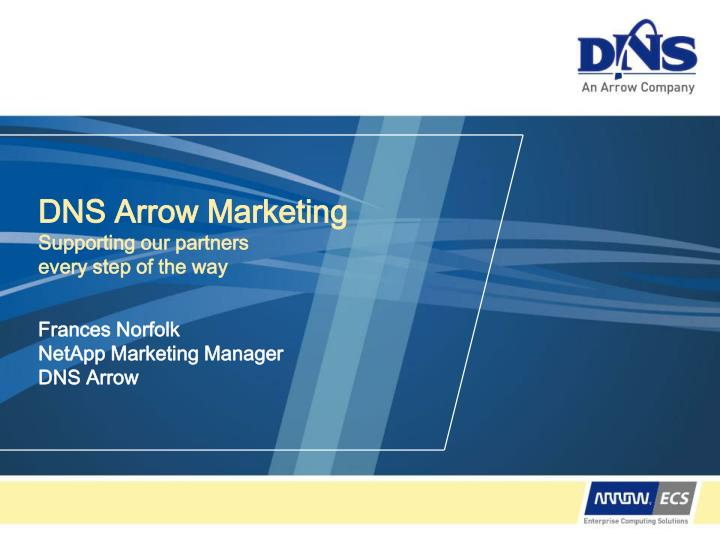 dns arrow marketing supporting our partners every step of the way n.