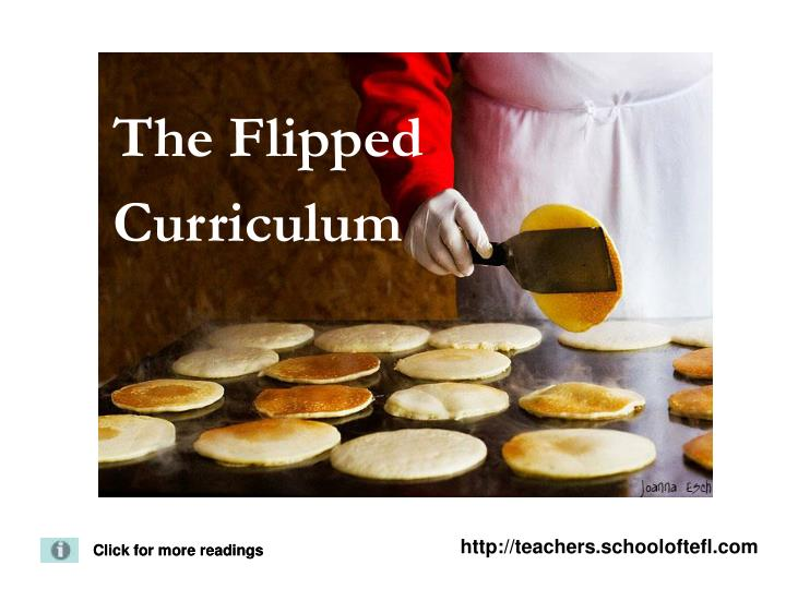 the flipped curriculum n.