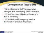 development of today s ems
